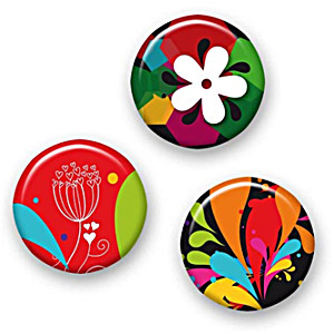 Значки для рюкзака Nikidom Испания Цветок