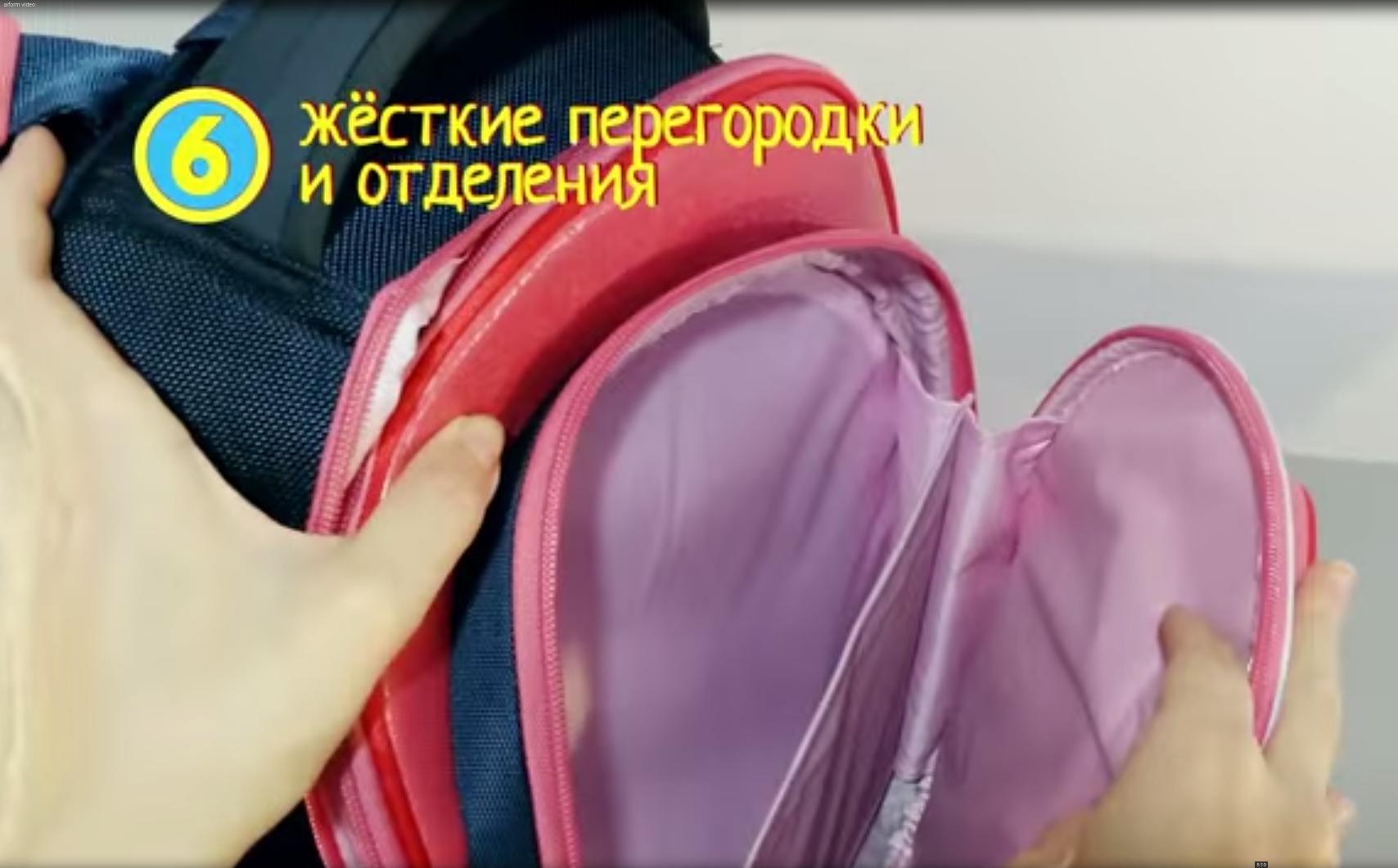 Школьный рюкзак Hummingbird TK55 официальный с мешком для обуви, - фото 9