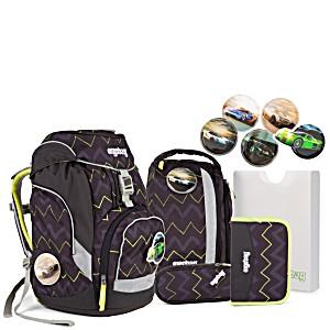 Рюкзак Ergobag HorsepowBear с наполнением + светоотражатели в подарок