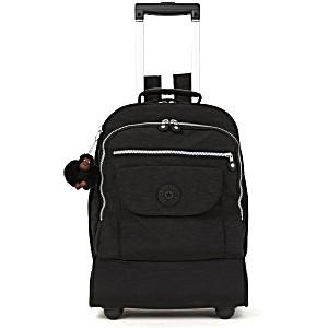 Рюкзак на колесах Kipling Sanaa PRT цвет черный