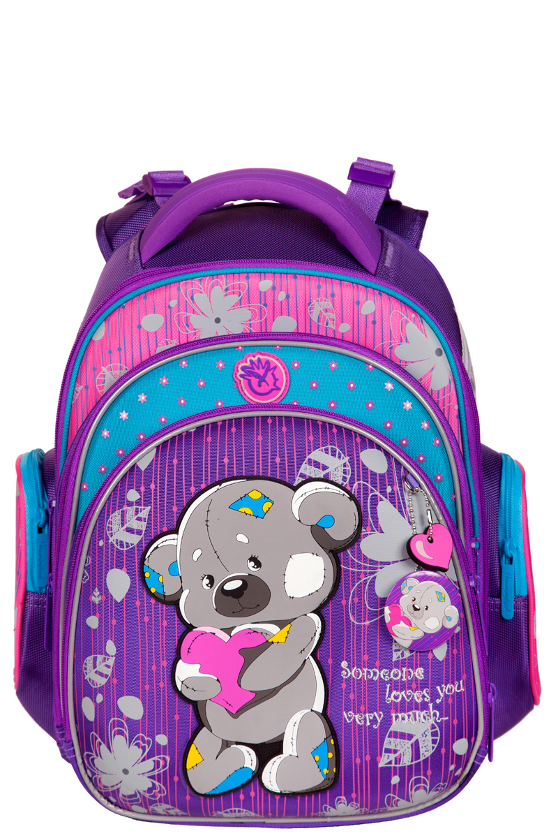 Школьный рюкзак Hummingbird TK55 официальный с мешком для обуви, - фото 2